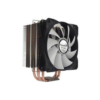 Охлаждане за процесор Gelid Solutions Tranquillo CC-TRANQ-04-B, съвместимост с AMD: AM2/AM2+/AM3/AM3+/AM4/FM1/ FM2/FM2+ Intel: 775/1150/1151/1155/1156/1366/2011(+Mounting clip), черен image