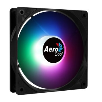 Вентилатор 120mm AeroCool Frost 12 PWM Fixed RGB, 4-pin PWM, 1500 rpm, RGB подсветка image