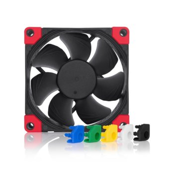 Вентилатор 80мм, Noctua NF-A8 PWM CHROMAX.BLACK.SWAP, 4-pin, 2200 RPM image
