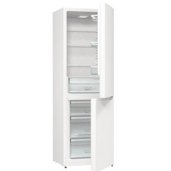Хладилник с фризер Gorenje RK6191EW4, клас A+, 320 л. общ обем, свободностоящ, 284 kWh/годишно разход на енергия, бял image