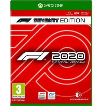 Игра за конзола F1 2020 - Steelbook Seventy Edition, за Xbox One image