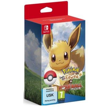 Pokemon: Lets Go! Eevee + Poke Ball (Switch) product