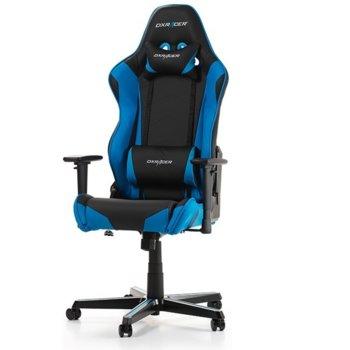 Геймърски стол DXRacer Racing OH/RZ0/NB, черен/син image