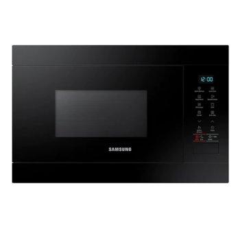 Микровълнова фурна Samsung MG22M8054AK/OL, за вграждане, с грил, електронно управление, 850 W, 22 л. обем, 6 степени на мощност, черна image
