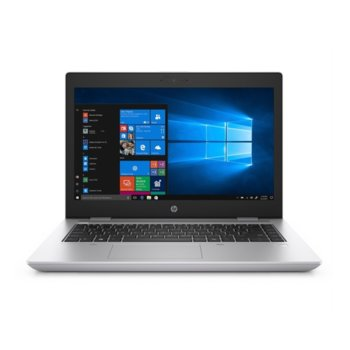 "Лаптоп HP ProBook 640 G5 (6XE24EA_D9Y32AA)(сив) с подарък докинг станция HP, четириядрен Whiskey Lake Intel Core i5-8265U 1.6/3.9 GHz, 14.0"" (35.56 cm) Full HD Anti-Glare Display, (HDMI), 8GB DDR4, 256GB SSD, 1x USB 3.1 Type C, Windows 10 Pro  image"