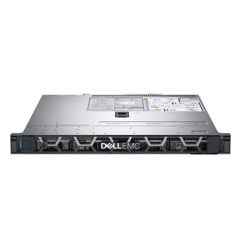 Сървър Dell EMC PowerEdge R340 (#DELL02885), четириядрен Coffee Lake Intel Xeon E-2234 3.6/4.8 GHz, 16GB DDR4 UDIMM, 1000GB HDD, 2x 1GbE, без ОС, 2x 350W PSU image