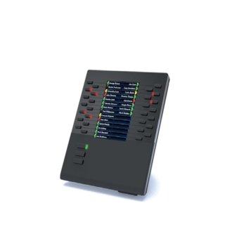 Разширителен модул Mitel (Aastra) 685i за Mitel 6865i, 6867i и 6869i, 3 страници с по 28 бутона image
