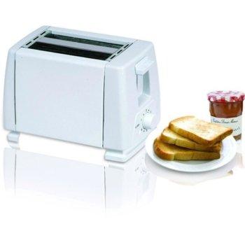Тостер Sapir SP 1440 B, 750W, За 2 филийки, 6 степени на запичане, бял image