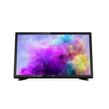 """Телевизор Philips 22PFS5403/12, 22"""" (55.88 cm) Full HD LED TV, DVB-T/T2/T2-HD/C/S/S2, 2x HDMI, 1x VGA, 1x USB image"""