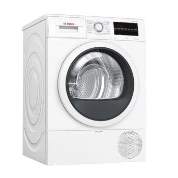 Сушилня Bosch WTR87TW0BY SER6, клас A+++, 8 кг. капацитет, свободностояща, 60 cm ширина, бяла image