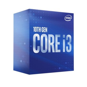 Intel Core I3-10100 Box product