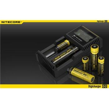 Зарядно Nitecore Digicharger D2 за Li-ion, Ni-Cd, Ni-Mh батерии image