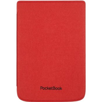 "Калъф за електронна книга PocketBook Shell Cover (WPUC-627-S-RD), за PocketBook Touch HD3/Basic Lux 2/Touch Lux4, 6"" (15.24 cm), полиуретан, червен image"