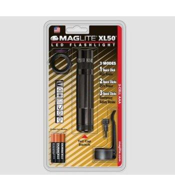 Фенер MAG-LITE XL50, 3x ААА батерии, 200 lumens, джобен, черен image