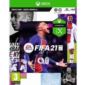 Игра за конзола FIFA 21, за Xbox One image