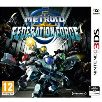 Metroid Prime: Federation Force product