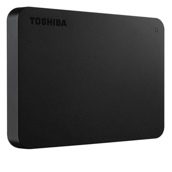 """Твърд диск 2TB, Toshiba Canvio Basics(черен), външен, 2.5""""(6.35 cm), USB 3.0 image"""