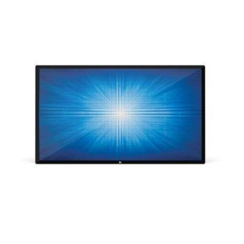 """Публичен дисплей Elo E215638 ET6553L -9UWA-1-MT-GY-G, тъч дисплей, 64.5"""" (163.9 cm) Ultra HD, HDMI, DisplayPort, USB, RS232 image"""