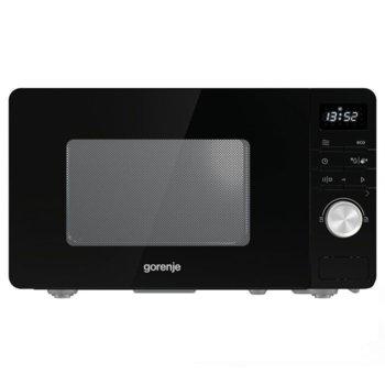 Микровълнова фурна Gorenje MO20A3B, електронно управление, 800W, черна image