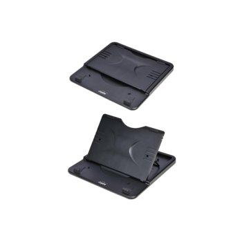 """Охлаждаща поставка за лаптоп Spire Cassi, до 13"""" (33.02), съвместима с таблети, черна image"""