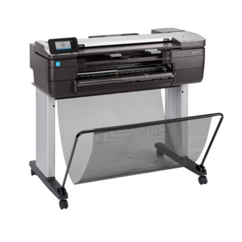 "Плотер HP Designjet T120 CQ891C, принтер/скенер/копир, 2400 x 1200 dpi, 24"" (61.96), 1GB RAM, Wi-Fi/Direct, Lan100Base-T, USB image"