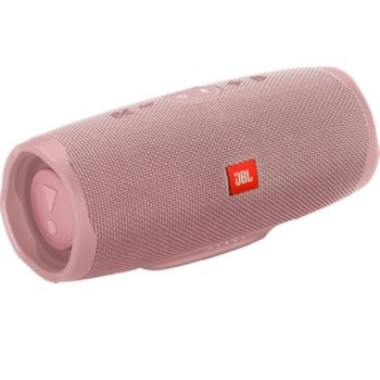 Тонколона JBL Charge 4 Pink, 30W, Bluetooth, AUX, розова, водоустойчива image