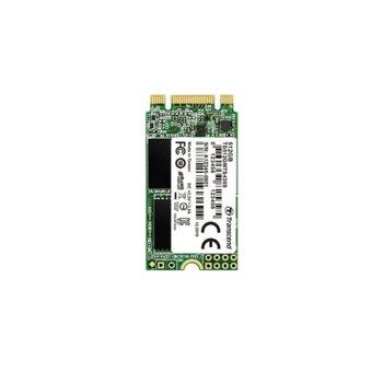 Памет SSD 512GB Transcend 430S, SATA III 6Gb/s, M.2 (2242), скорост на четене 560 MB/s, скорост на запис 500 MB/s image