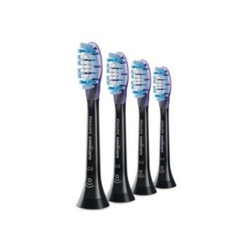 Резервни глави Philips Sonicare G3 Premium Gum Care, сдвояване в режим BrushSync, 4 бр. image