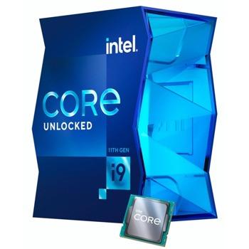 Процесор Intel Core i9-11900K, осемядрен (3.5/5.3 GHz, 16MB, 1300МHz графична честота, LGA1200) Box, без охлаждане image