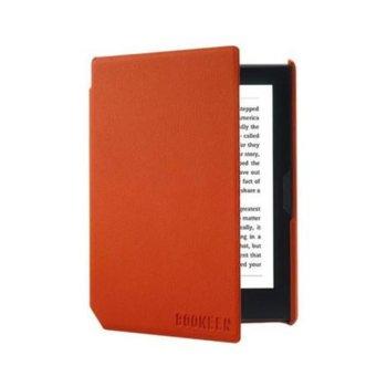 """Калъф за електронна книга, Bookeen, за Cybook Muse 6"""" (15.24 cm), кожен, оранжев image"""
