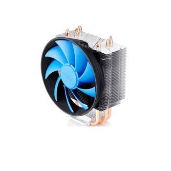 Охлаждане за процесор DeepCool GAMMAXX 300, съвместимост с Intel LGA1366/LGA775/LGA1150/LGA1151/LGA1155/LGA1156 & AMD AM4/FM2/FM1/AM3+/AM3/AM2+/AM2/K8 image
