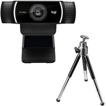 Уеб камера Logitech C922 Pro Stream, микрофони, Full HD, USB image