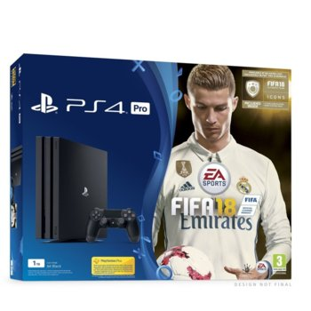 PlayStation 4 Pro + FIFA 18 + 14 дни PS+ product
