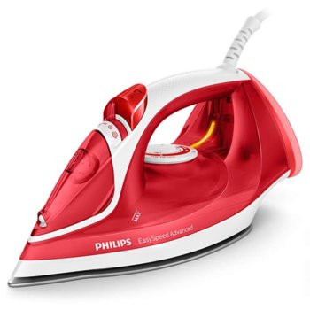 Ютия Philips GC2672/40, 2m кабел, 2300W, червен image