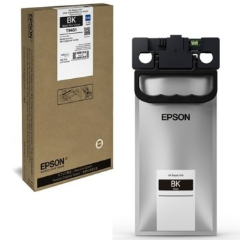 Мастило за Epson WorkForce Pro WF-C5xxx - Black - WF-C5x90 - заб: 10 000к - 136.7ml image