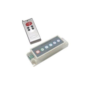LED RGB контролер ORAX LC-1224-4A-RGB-RF, 12-24V DC, 4A,  image