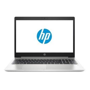 "Лаптоп HP ProBook 450 G7 (9HP68EA)(сребрист), четириядрен Comet Lake Intel Core i5-10210U 1.6/4.20 GHz, 15.6"" (39.62 cm) Full HD IPS Anti-Glare Display, (HDMI), 8GB DDR4, 256GB SSD, 1x USB 3.1 Type-C, Free DOS  image"