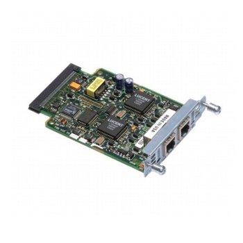 VICs Cisco 2 port Voice Interface Card, BRI (NT and TE) image