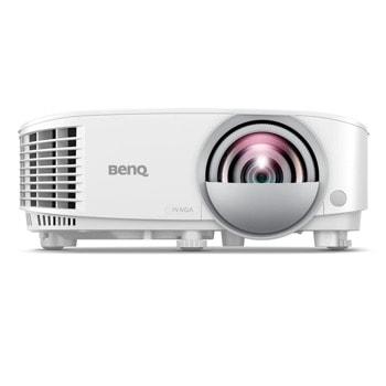 Проектор BenQ MW826STH, DLP, WXGA (1280x800), 20 000:1, 3500 lm, LAN, HDMI, VGA, USB image