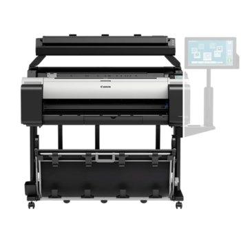 """Плотер Canon imagePROGRAF TM-305 + скенер MFP Scanner T36, 36"""" (914 mm), 2400 x 1200 dpi, 2GB RAM, LAN, Wi-Fi, USB, B2, B1, A1, A0, B4, A3, A3+, A2 image"""