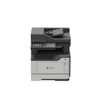 Мултифункционално лазерно устройство Lexmark MB2442adwe, монохромен принтер/копир/скенер/факс, 1200 x 1200 dpi, 40 стр./мин, LAN, Wi-Fi, A4  image