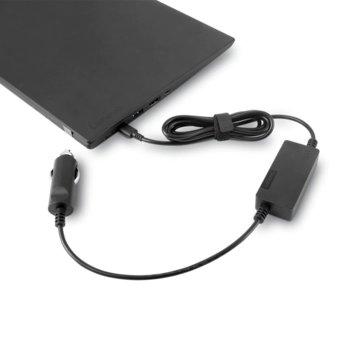 Захранване (оригинално) универсално Lenovo USB-C DC Travel Adapter, автомобилна запалка, USB Type C, 12/24V 65W image