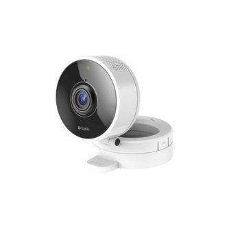 IP камера D-Link DCS-8100LH, домашна/портативна, 1 Mpix(1280x720@30FPS), 1.8mm обектив, H.264/MJPEG, IR осветеност (до 5 метра), Wi-Fi, microSD слот, microUSB Type B, вградени микрофон и говорител image