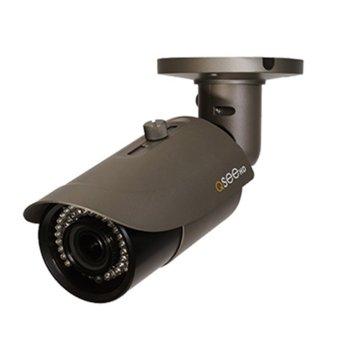 "IP камера Q-See QTN8062B Starlight, насочена ""bullet"", 5 Mpix(2048x1536@30FPS), 3,6-10mm обектив, H.264/MJPEG, IR осветеност (до 30 метра), IP66, 1x RJ45 100mbs PoE image"