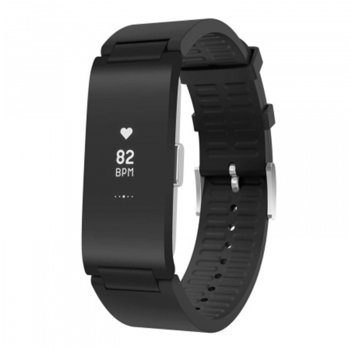 Смарт гривна Withings Pulse HR, OLED дисплей, Bluetooth, водоустойчива, черна image
