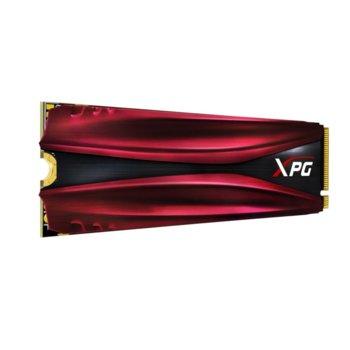 Памет SSD 256GB A-Data XPG GAMMIX S11 Pro, NVME PCIe, M.2 (2280), скорост на четене 3350MB/s, скорост на запис 1150MB/s image