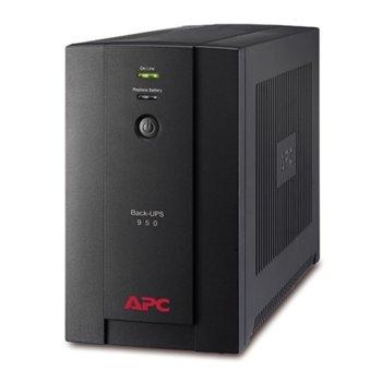 UPS APC Back-UPS 950VA, 950VA/480W, Line Interactive image