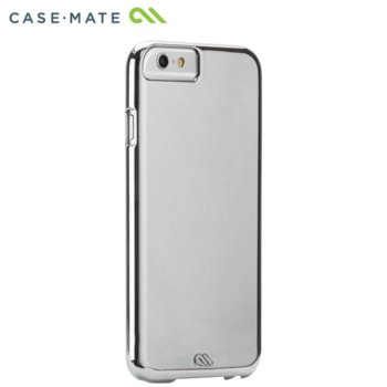 Калъф за Apple iPhone 8, поликарбонатов, CaseMate Barely There NH CM031514NH, сребрист image