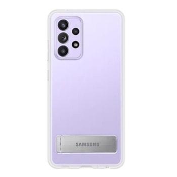 Калъф за Samsung Galaxy A52, хибриден, Samsung Clear Standing Cover EF-JG996CT, удароустойчив, с поставка, прозрачен image