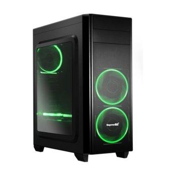 Кутия Segotep Halo 5 SG-H5B, Micro ATX/Mini ITX, 1x USB 3.0, черна, без захранване image